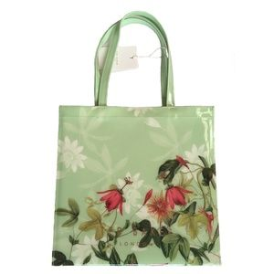 NWT Ted Baker CARACON Illusion Floral Print Tote